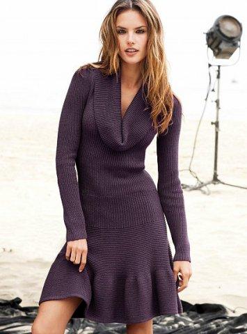Koton Kışlık Elbise Modelleri 2015