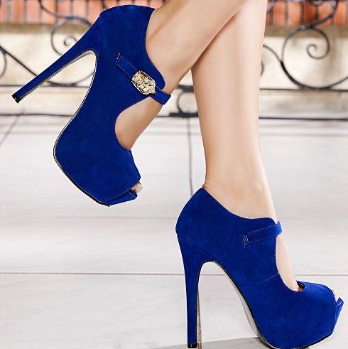 Platformlu Topuklu Ayakkabı