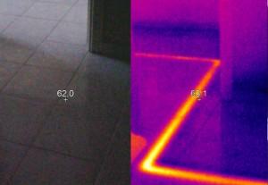 Su kaçağı termal kamera