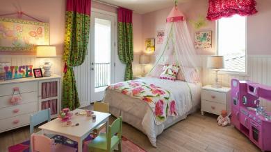 Kız Çocuk Odasına Uygun Dekorasyon Önerileri
